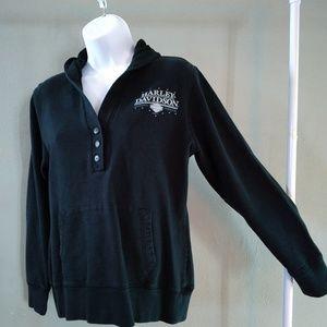 Harley Davidson sweatshirt hoodie..sz M